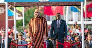 Arrivée de SM le Roi Mohammed VI à Dar es Salam pour une visite officielle en Tanzanie