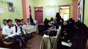 المشاركين في مشروع التدريب