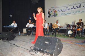 سهرة الفنانة علياء بلعيد الجمعة 8 سبتمبر بمهرجان الخيام بالروحية