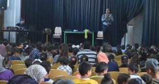 عرض تنشيطي للأطفال بقيادة مجموعة توفيق بن عمر