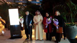صمود الشاعر و التكريم العربي بالشارقة