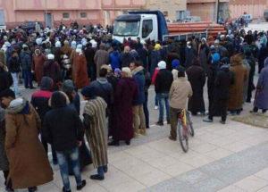 جانب-من-إحتجاجات-سكان-تندرارة-504x362