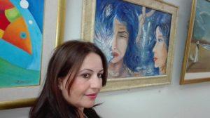 الفنانة هادية بوخروبة و معرضها